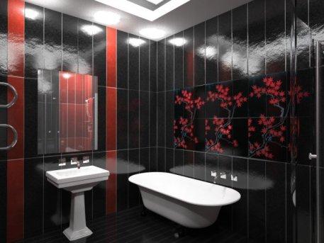 Фото плитки в ванную комнату