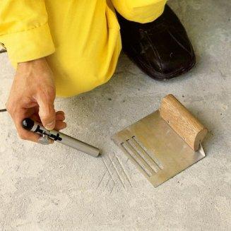 Підготовка бетонної підлоги до