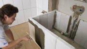 Укладываем Плитку в Ванной