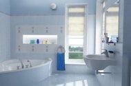 Фото - плитка різних розмірів у ванній