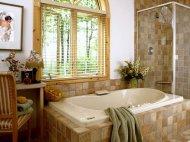 Фотопанно на плитці у ванній