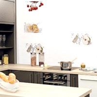 кухонний фартух білого кольору
