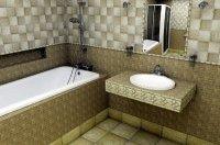 обробка ванни плиткою