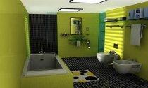 Розташування ваной кімнати в 2м