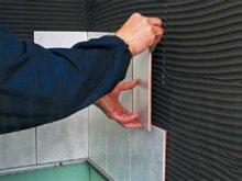 технологія укладання кафельноі плитки на стіну