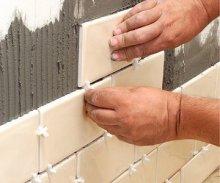 технологія укладання кераміческоі плитки на стіну
